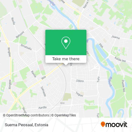Suema Peosaal map