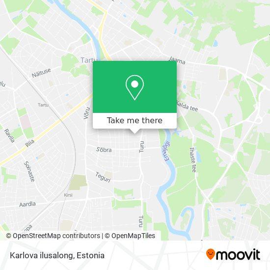 Karlova ilusalong map