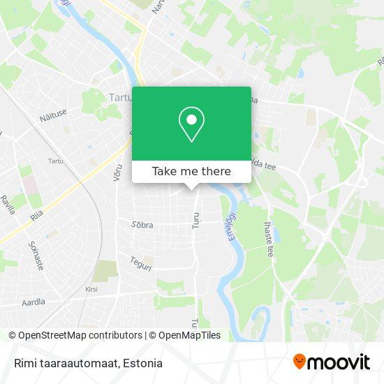 Rimi taaraautomaat map