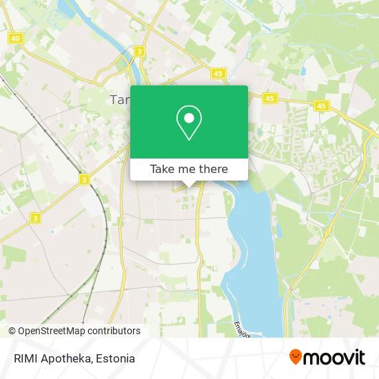 RIMI Apotheka map