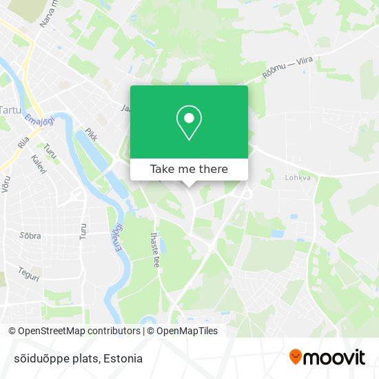 sõiduõppe plats map