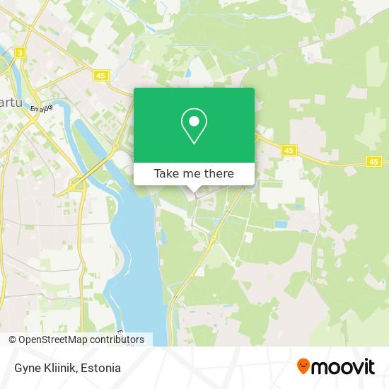 Gyne Kliinik map