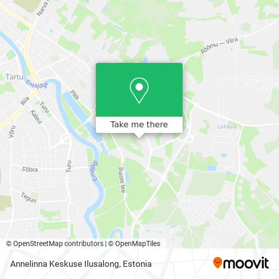 Annelinna Keskuse Ilusalong map