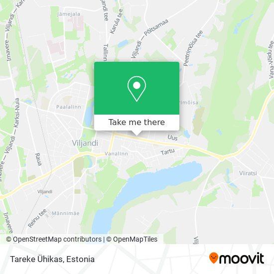Tareke Ühikas map