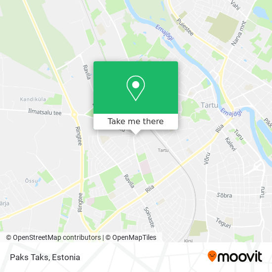 Paks Taks map