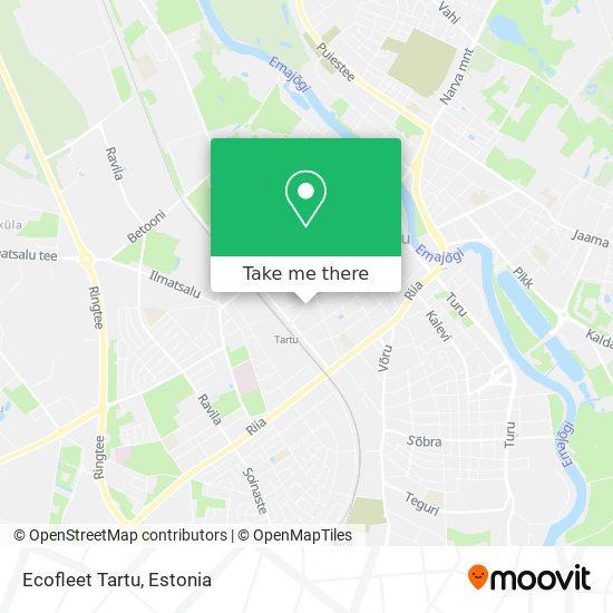 Ecofleet Tartu map