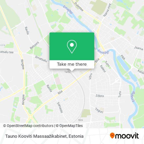 Tauno Kooviti Massaažikabinet map
