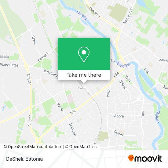 DeSheli map