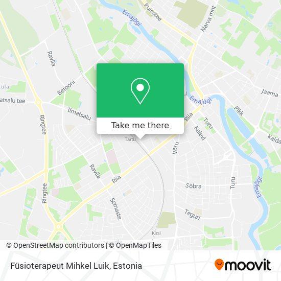 Füsioterapeut Mihkel Luik map