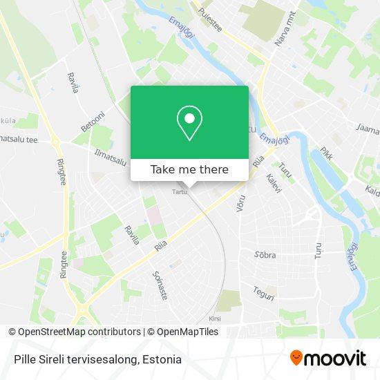 Pille Sireli tervisesalong map