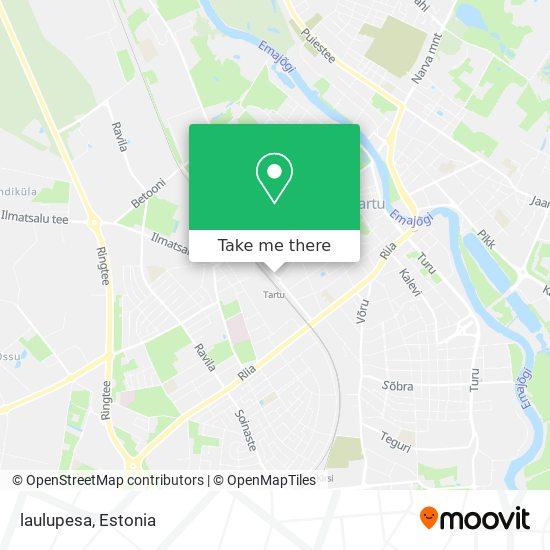 laulupesa map