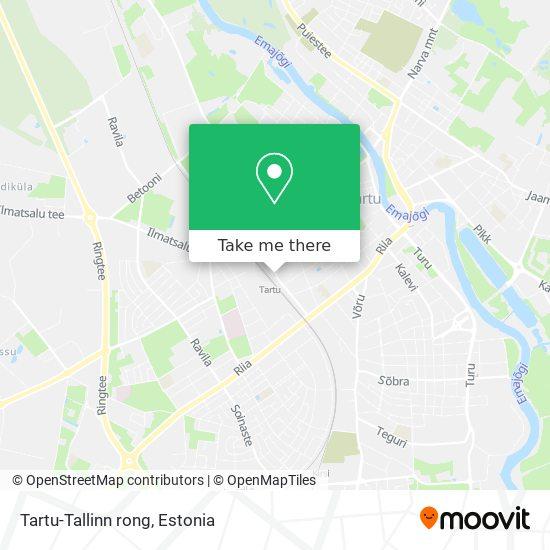 Tartu-Tallinn rong map