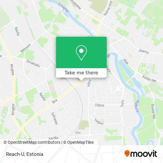 Reach-U map