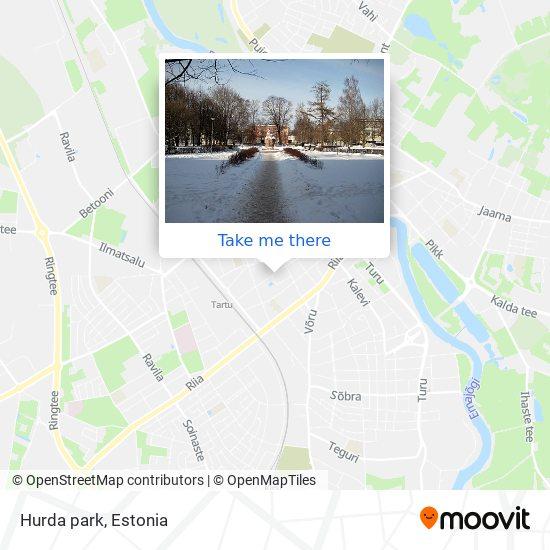 Hurda park map