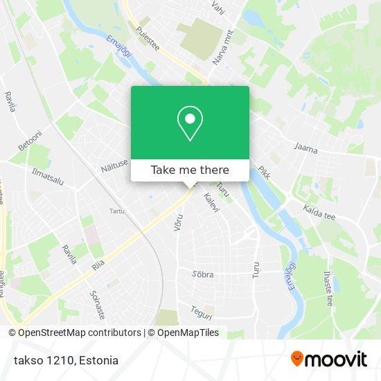 takso 1210 map