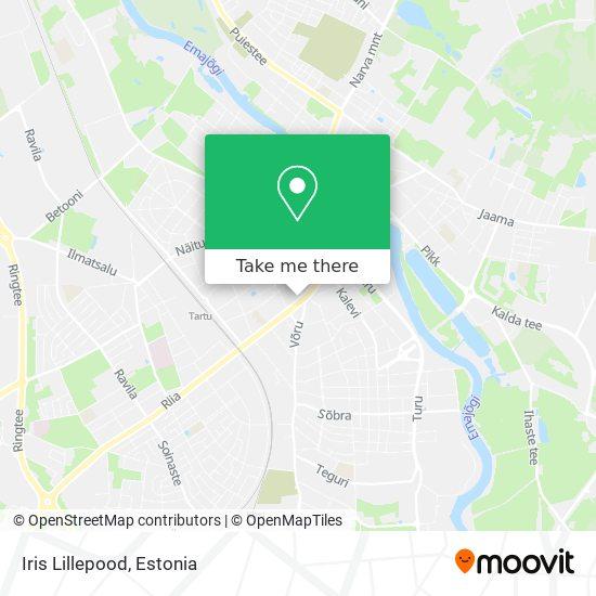 Iris Lillepood map