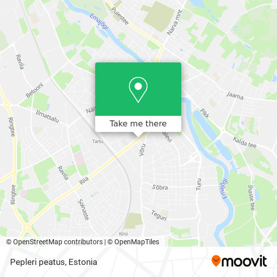 Pepleri peatus map
