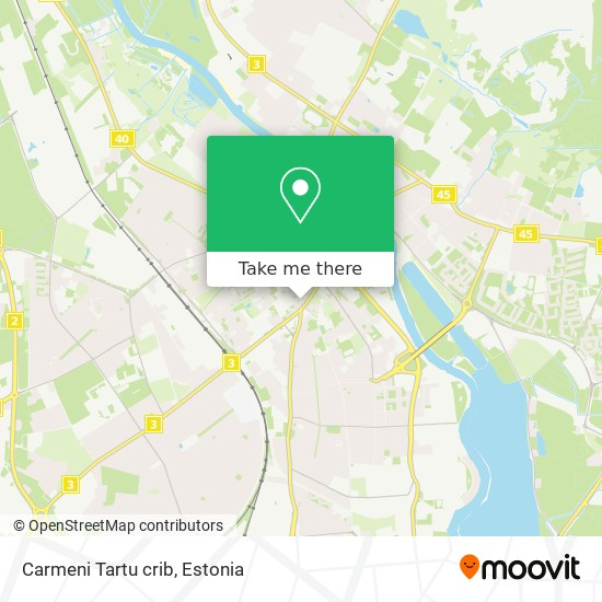 Carmeni Tartu crib map
