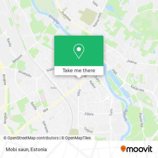 Mobi saun map