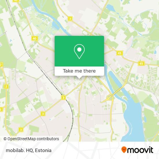 Карта mobilab. HQ