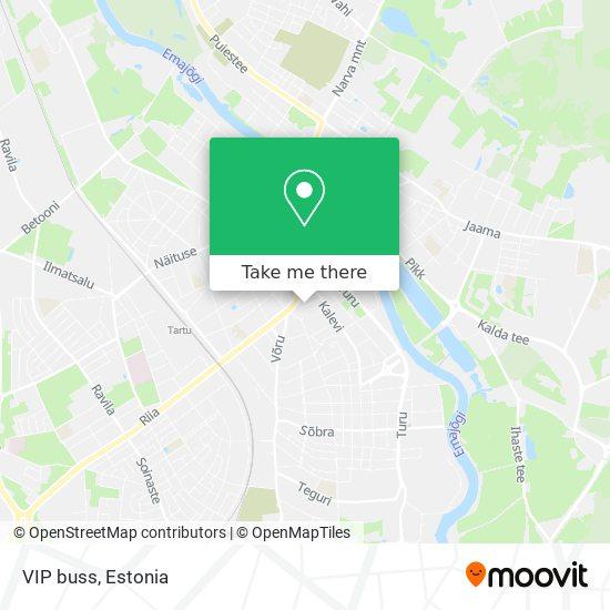 VIP buss map