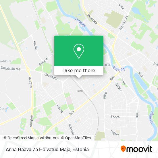 Anna Haava 7a Hõivatud Maja map