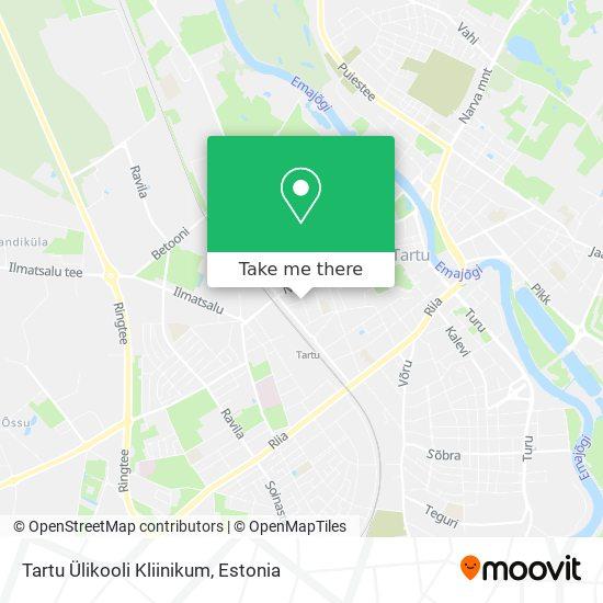 Tartu Ülikooli Kliinikum map