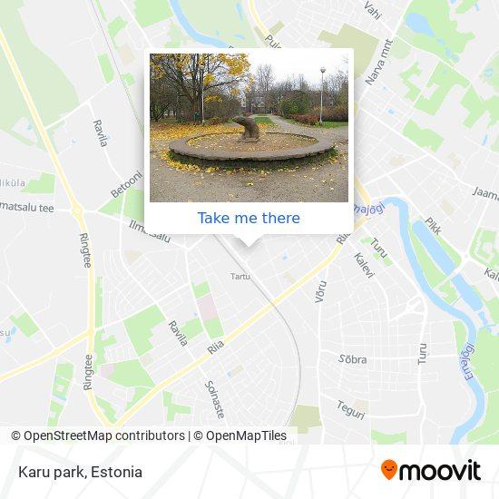 Karu park map