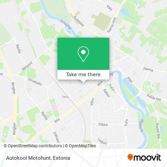 Autokool Motohunt map