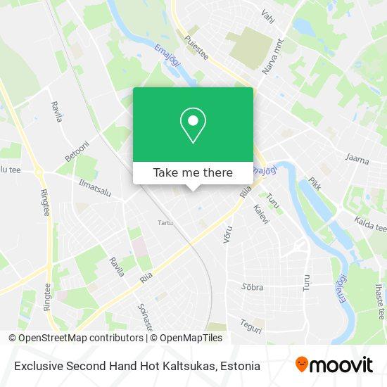 Exclusive Second Hand Hot Kaltsukas map