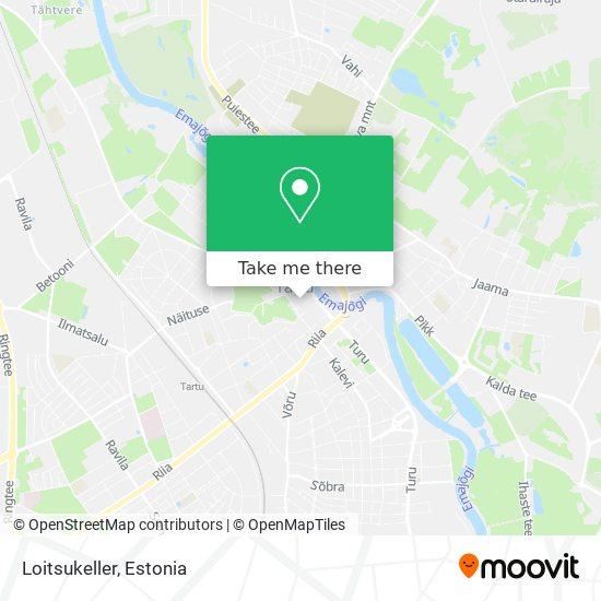 Loitsukeller map