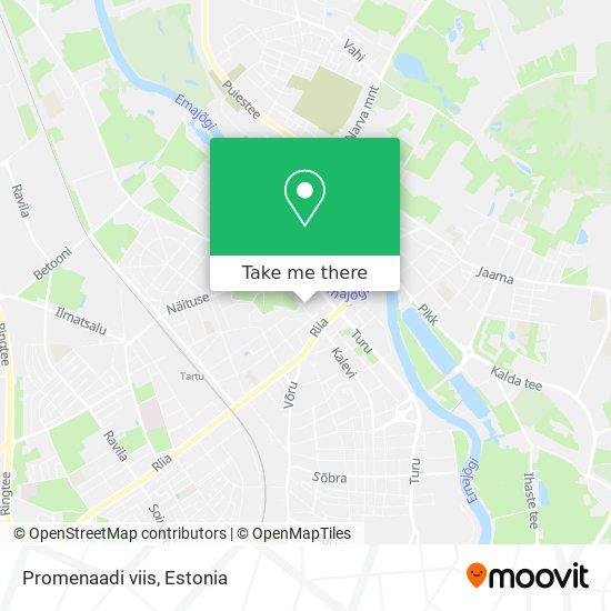 Promenaadi viis map