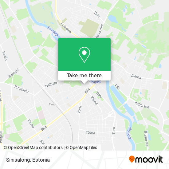Sinisalong map