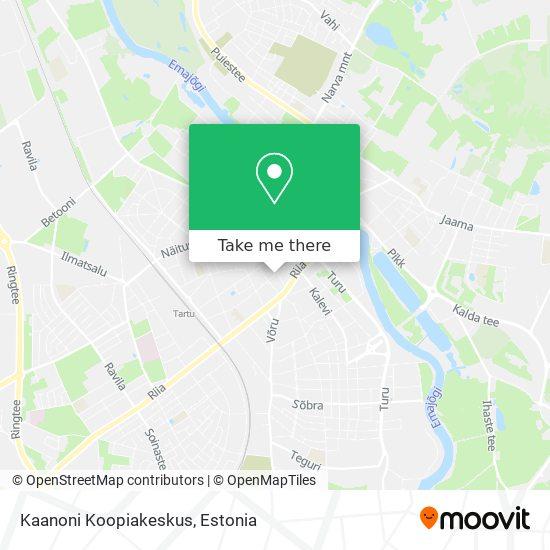 Kaanoni Koopiakeskus map