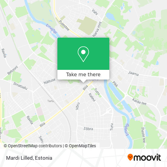 Mardi Lilled map