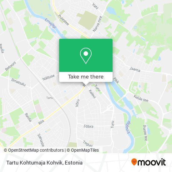 Tartu Kohtumaja Kohvik map