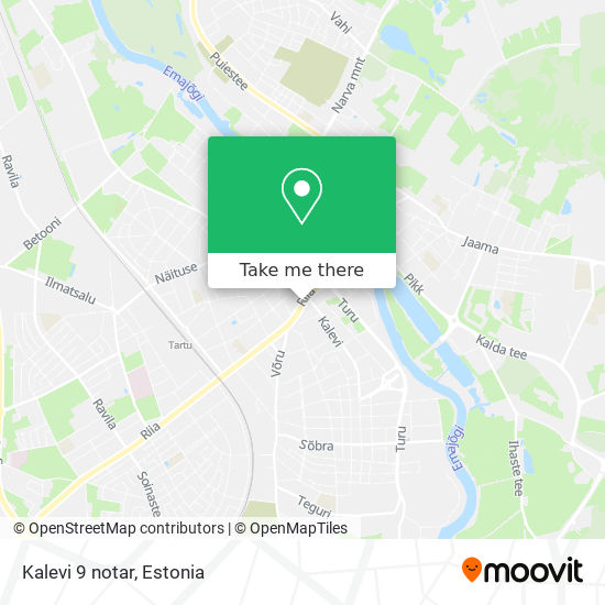 Kalevi 9 notar map