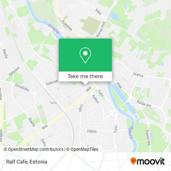 Ralf Cafe map