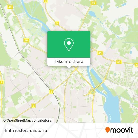 Entri restoran map