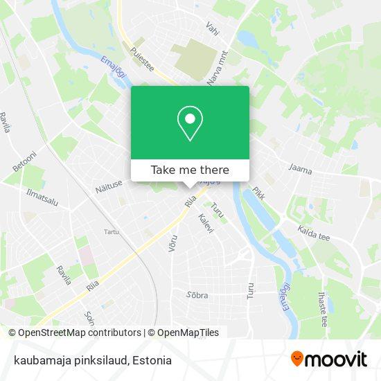 kaubamaja pinksilaud map