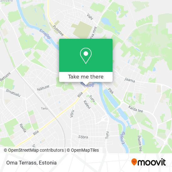 Oma Terrass map