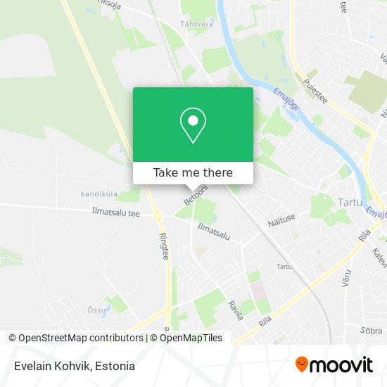 Evelain Kohvik map