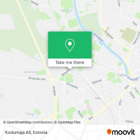 Kodumaja AS map