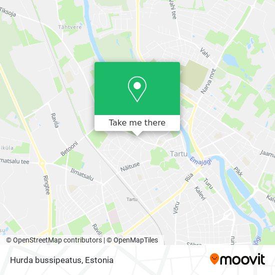 Hurda bussipeatus map