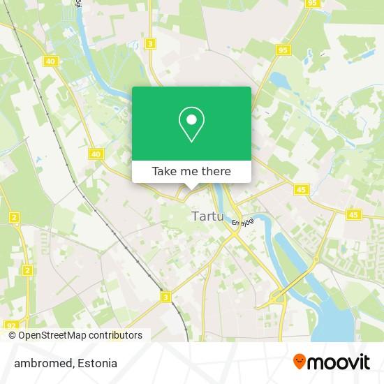 ambromed map