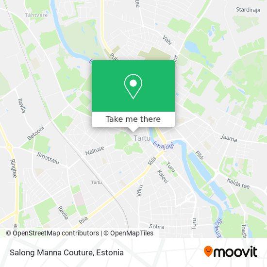 Salong Manna Couture map