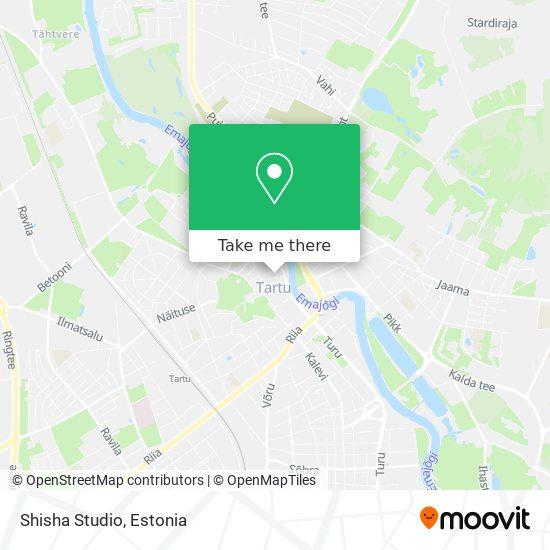Shisha Studio map
