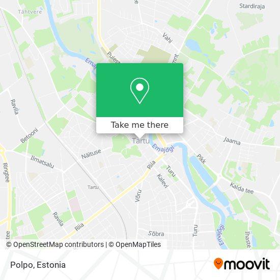 Polpo map