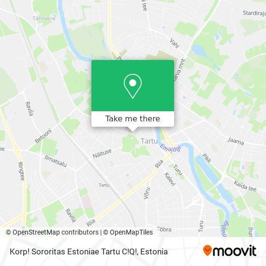 Korp! Sororitas Estoniae Tartu C!Q! map
