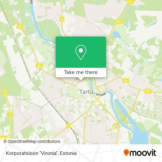 """Korporatsioon """"Vironia"""" map"""